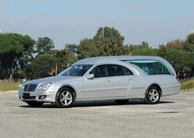 Mercedes Limousine metallizzata