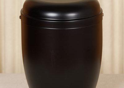 Urna a vaso in metallo